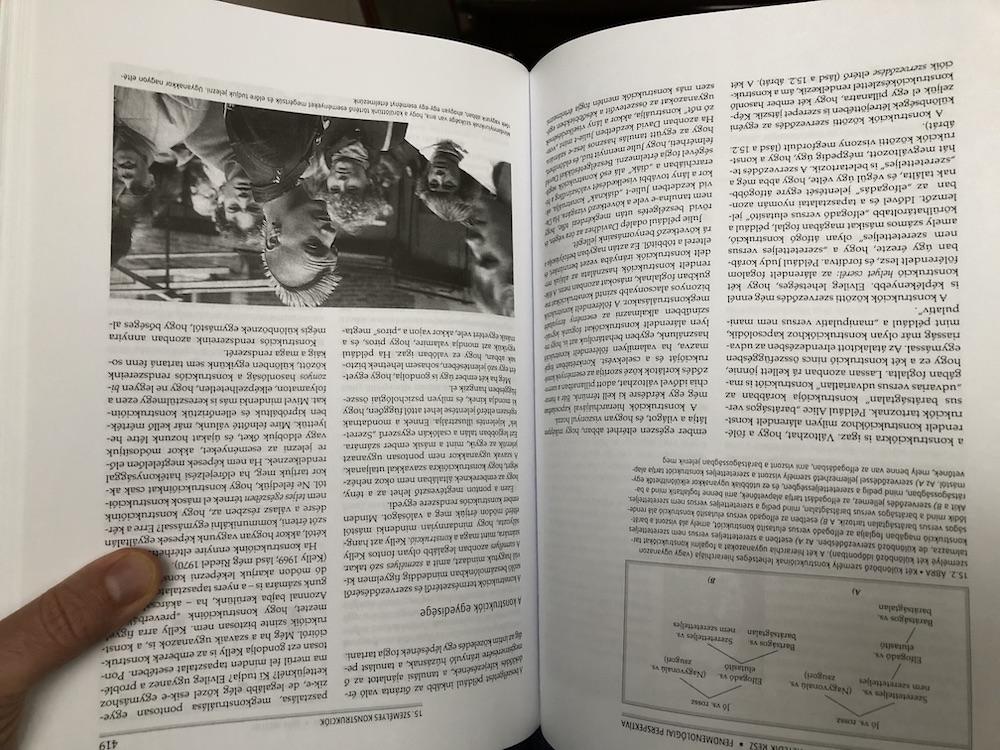könyvolvasás fordítva