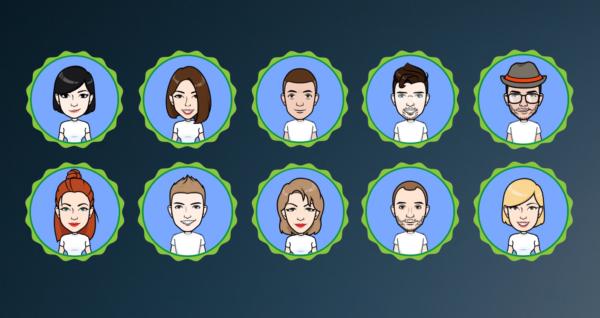 MM team avatars