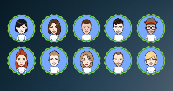 MM team avatars
